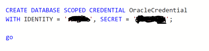 oraclecredential